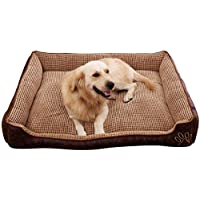 MEIDI Home Suministros para Perros Cama para Mascotas Estera para Mascotas Perrera Perro extraíble Colchón Pequeño