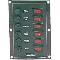 Osculati 14.103.31 - Pannello 6 interruttori verticale (Six switches vertical panel)