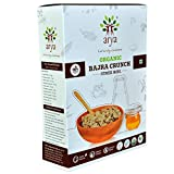 #6: Arya Farm Certified Organic Fitness Meal Without Chemicals and Pesticides Bajra Crunch ( Flakes ) , 300g, ( Pearl Millet / Sajje / Sajjalu / No Chemicals / No Pesticides / No Added Preservatives / No Artificial Colour / No Added Sugar / Wholesome Breakfast Cereal )