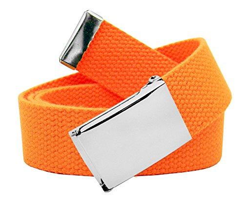 Build A Belt Herren Gürtel Gr. Large, neon-orange
