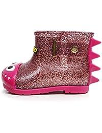 Tefamore Zapatos de bebé, Niños Moda Impermeable goma Botas de lluvia Niñas Martin Sneaker Invierno Nieve Bebé Zapatos casuales
