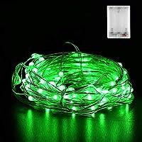 Micro LED Lichterkette Batterie, Nasharia 30 LED 3m Micro LED Lichterketten für Hochzeit, Party, Weihnachten, Außen/Innen Dekoration, IP65 Wasserdich