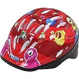 Bumper Boy's Monster Helmet - Red, 52