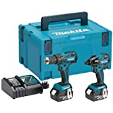 Makita dlx2007mj 18 V Li-Ion Brushless Combi Kit