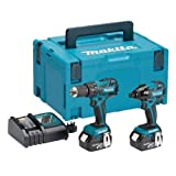 Makita dlx2007mj Kit Combinado de 18 V Li-ion Sin Escobillas