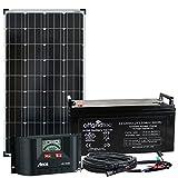 Offgridtec® 130 Watt Solaranlage BIG-L 130W 122Ah 12V