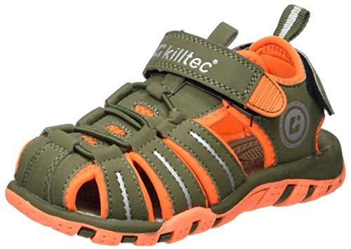Killtec Marimba Jr, Unisex-Kinder Sport- & Outdoor Sandalen, Grün (oliv), 34 EU (2 UK)