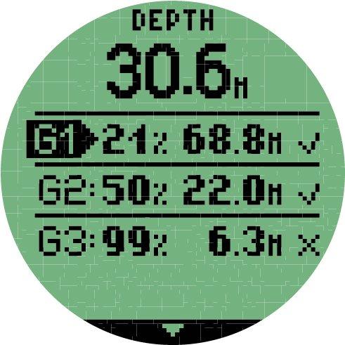 Mares Matrix Tauchcomputer – Schwarz, BX, 414166 - 3