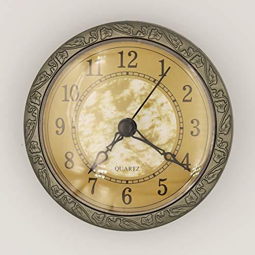 Unbekannt Einbau-Uhr Einsteckuhrwerk Einsteckwerk Einbauuhr ARABISCH Ø 100 mm TOP Nr. 38 (_)