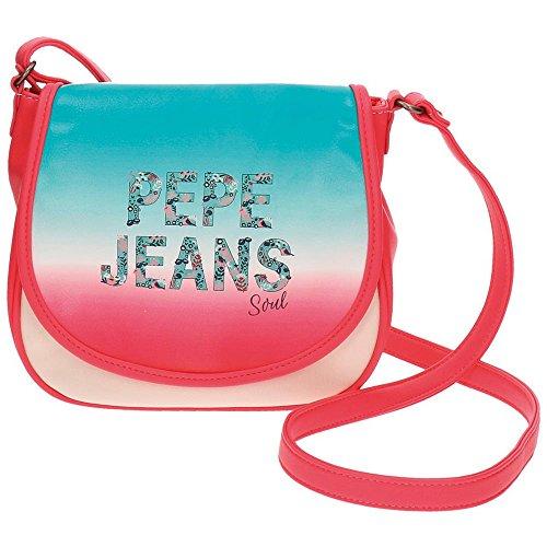 Pepe Jeans borsa a tracolla, 23 cm, 4.01 liters, Multicolore