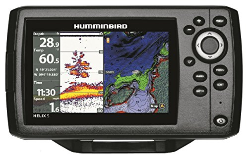 Humminbird 410210–1 Helix 5 Chirp GPS G2 Fisch-Finder