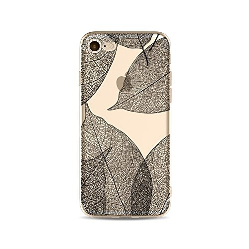 Schutzhülle iPhone 7Schutzhülle étui-case transparent Liquid Crystal TPU Silikon klar, Schutz Ultra Slim Premium, Schutzhülle Prime für Iphone 7-les Blatt 14