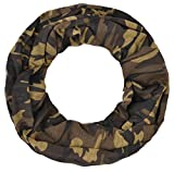 Intermoda Loop leichter Jersey Schlauchschal Damen Herren Unisex Onesize Camouflage Tarnfabe Grün Braun Olive