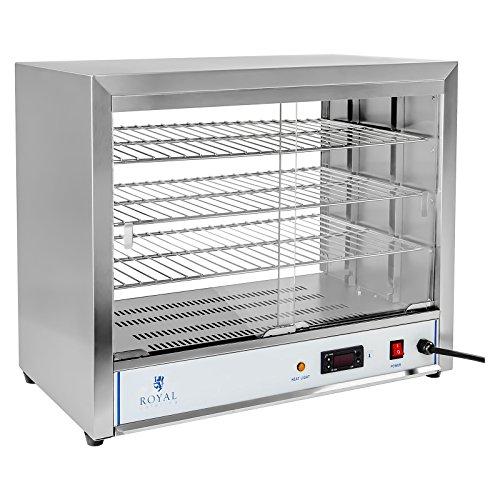 Royal Catering - RCHT-1000 - Vitrina caliente - 1.000 watt -.