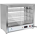 Royal Catering - RCHT-1000 - Vitrina caliente - 1.000 watt - 3 bandejas -