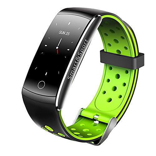 Ruiren Smart Fitness Tracker, Pulsmesser, Blutdruck Messgerät, Schrittzähler Activity Tracker Smart Armband, Schlaf Monitor, Kalorienzähler, Sport Smartwatch für IOS Oder Android Smartphones
