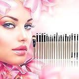 20 Pcs Professional Makeup Beauty Cosmetic Blush Golden Brushes Kits