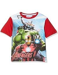 Marvel Boy's Avengers Ready Position T-Shirt
