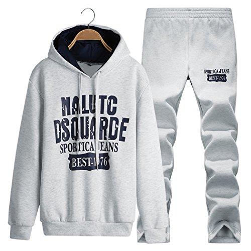 walk-leader Uomo Casual Pullover Manica Lunga Con