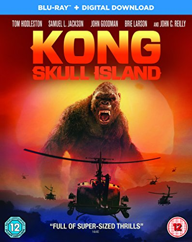 Kong: Skull Island [Blu-ray + Digital Download] [2017]
