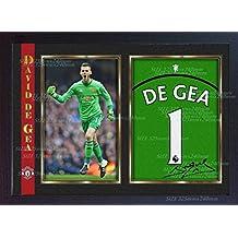 evtl. nicht in deutscher Sprache David De Gea von Manchester United/Club-Karte 100 Fu/ßballkarte Topps Match Attax 2017//2018/17//18/Hundert