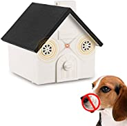 Mumoo Bear Anti Barking Device, Outdoor Dog Repellent Device with Adjustable Ultrasonic Level Control