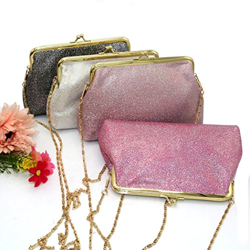 sundatebe, Borsa a tracolla donna, Black (Nero) - 1007PZ5517LS8KE4IC Pink