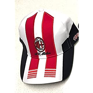 A.C. Milan CAPPELLINO AC Milan UFFICISCHE BERRETTO Cap mit Vision