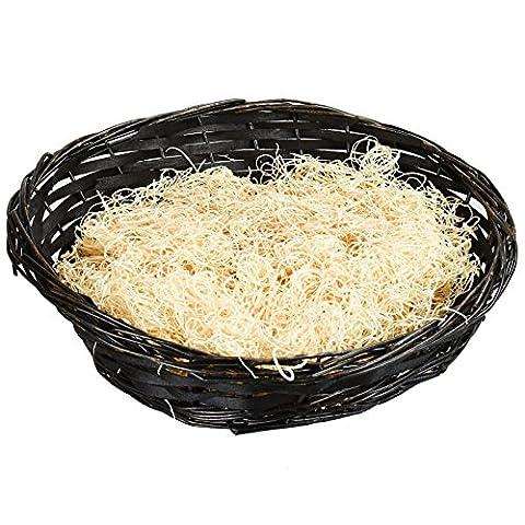 Asab Weihnachten Geschenkkorb Deluxe Kit Zellophanbeutel Schleife-Holz Luxus Shred machen Ihren eigenen großen, Craft Geschenk Box Choco ovaler Korb