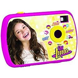 Soy Luna - Cámara de fotos digital Disney, niña (Lexibook DJ017SL)