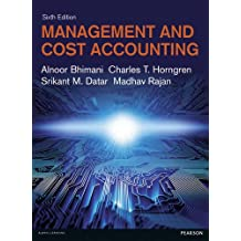 Management and Cost Accounting.
