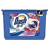 Dash Pods 15 Caps Bouquet di Primavera Detersivo Lavatrice in Monodosi