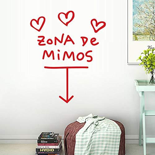 Beikoard Zona De Mimos Wohnkultur Wandaufkleber Aufkleber Schlafzimmer Vinyl Kunst Wandbild
