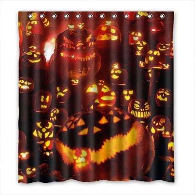 een Wasserdicht Polyester Shower Curtain Duschvorhang 167cm x 183cm (Kinder Halloween Brauch)