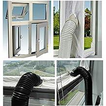 JOYOOO AirLock Guarnizione per finestra per climatizzatori mobili essiccatori con scarico esterno dell'aria Hot Air Stop