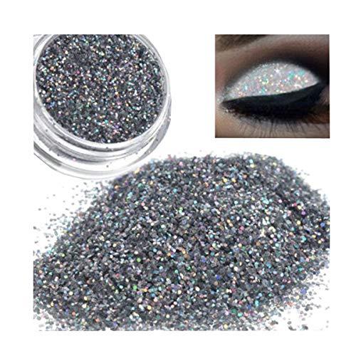 Sparkle Maquillage Paillettes Poudres Libres EyeShadow Lolittas Silver Pigment Ombre à Paupières