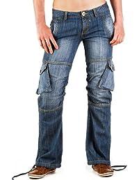 JET LAG Damen Cargo Jeans Sophia