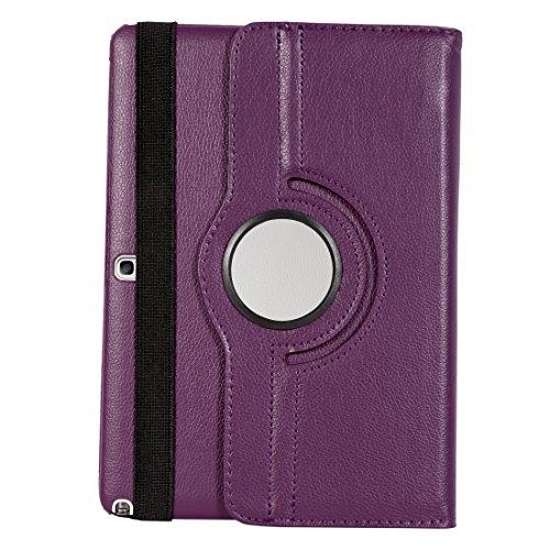 Bumper Flip Cover For Galaxy Note 10.1 Sm-p601 Kickstand Case Cover For Samsung Galaxy Note 10.1 Sm-p601 (purple)