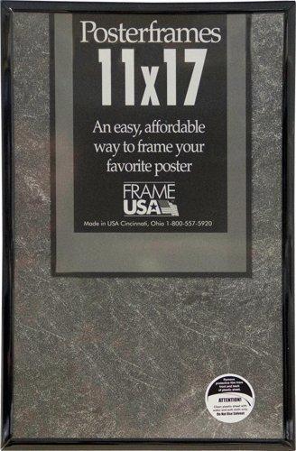 11x17 Posterframe, Foamcore Series (Black) by Frame USA - Serie Black Frame
