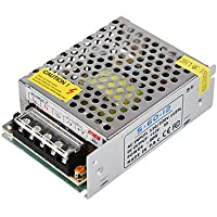 Trasformatore per strisce LED OUT 12V 5A Alimentatore 12v LineteckLED/®LINEA EXPRESS S-60-12 Trasformatore 60W IN 220v