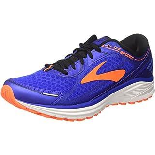 Brooks Men's Aduro 5 Running Shoes, (Blue/Orange/Black 1d494), 11 UK