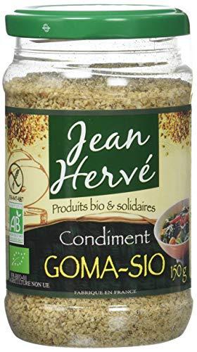 Jean Herve condiment Goma-Sio Bio 150 g - Lot de 3