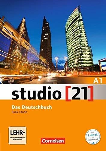 Studio 21: Deutschbuch A1 mit DVD-Rom by Jane Cadwallader(2013-02-04)