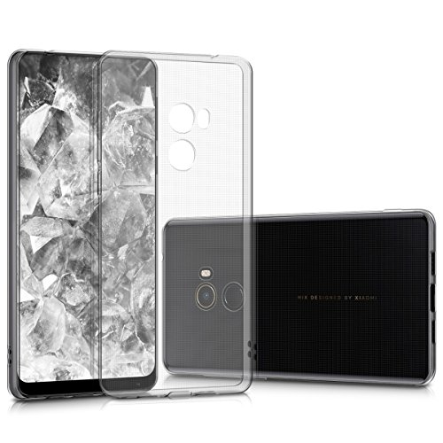 kwmobile Xiaomi Mi Mix 2 Hülle - Handyhülle für Xiaomi Mi Mix 2 - Handy Case in Transparent