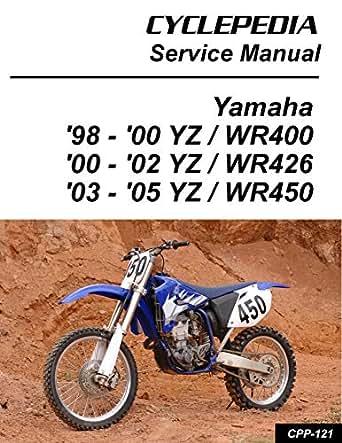 1998-2005 Yamaha YZ/WR400/426/450F Service Manual (English ... on
