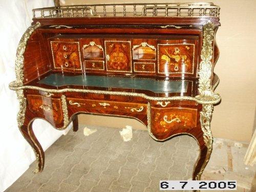 LouisXV bureau baroque Secrétaire Baroque MoSc0454SkGn