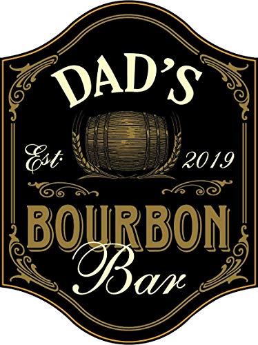 THOUSAND OAKS BARREL Thousand Oaks Schaft Dad 's Bourbon Bar Holz Schild
