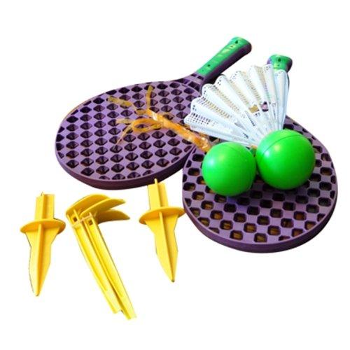 Kingfisher Unisexe SF2Super Sport Famille 2Jeu de Tennis de Lot, Violet
