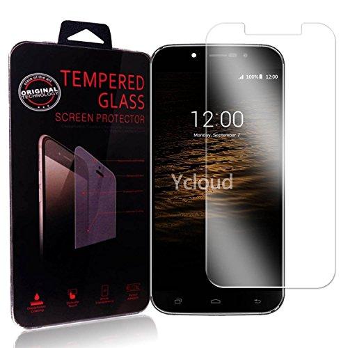 Ycloud Panzerglas Folie Schutzfolie Bildschirmschutzfolie für UMI Rome / Rome X screen protector mit Härtegrad 9H, 0,26mm Ultra-Dünn, Abger&ete Kanten