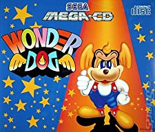 WONDER DOG SEGA MEGA-CD